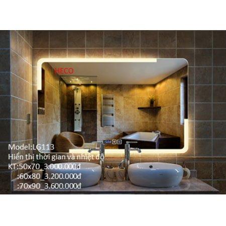 Gương sấy cảm ứng đèn Led Heco LG-113