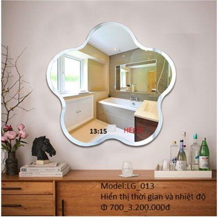 Gương sấy cảm ứng đèn led Heco LG-013