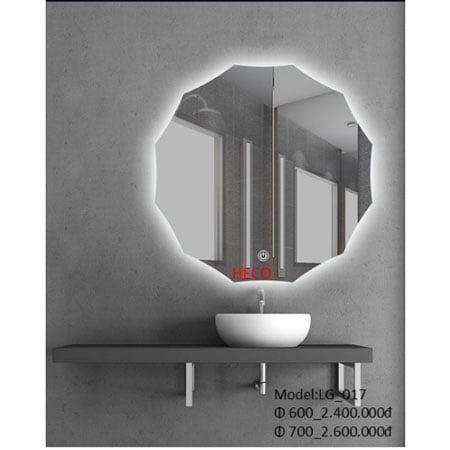 Gương sấy cảm ứng đèn Led Heco LG-017