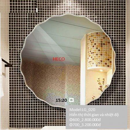 Gương sấy cảm ứng đèn Led Heco LG-020