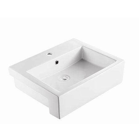 Chậu rửa lavabo bán âm bàn Moen SW51631