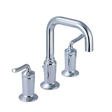 Vòi rửa lavabo 3 lỗ nóng lạnh Moen V16228