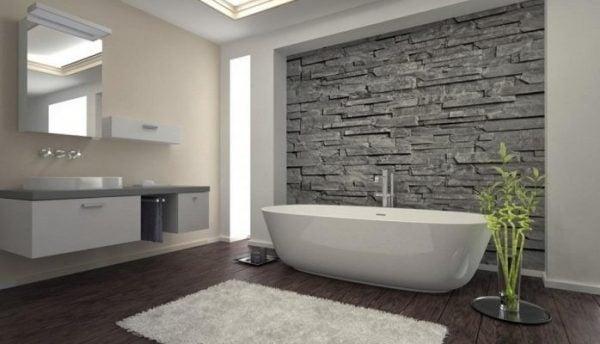 Bồn tắm mang lại vẻ đẹp cho không gian
