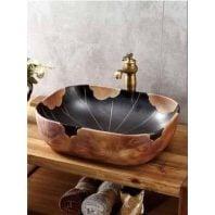 Chậu rửa lavabo nghệ thuật HN FCH7082