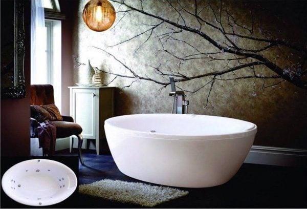 Nên lựa chọn bồn tắm chất liệu nào
