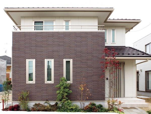 Chọn gam màu gạch phù hợp với tổng thể căn nhà