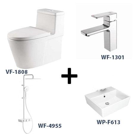 Bộ sản phẩm phòng tắm American Gói 2