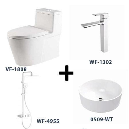Bộ sản phẩm phòng tắm American Gói 5