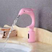 Vòi rửa lavabo cảm ứng trẻ em HCG HM-D93 Pink