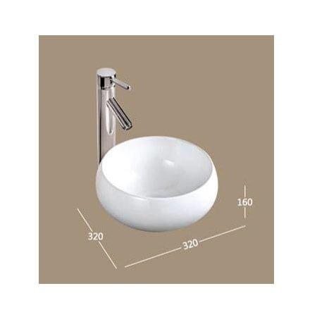 Chậu rửa lavabo HCG K274