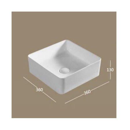 Chậu rửa lavabo HCG K389