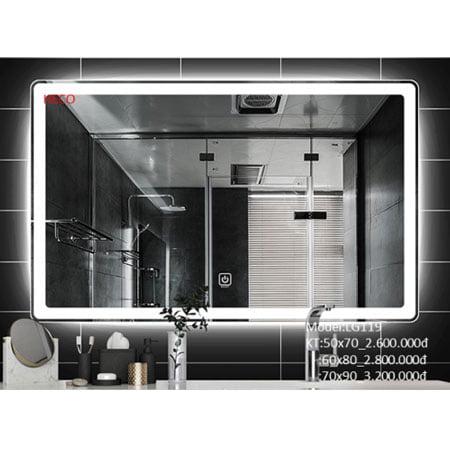 Gương sấy cảm ứng đèn Led Heco LG-119