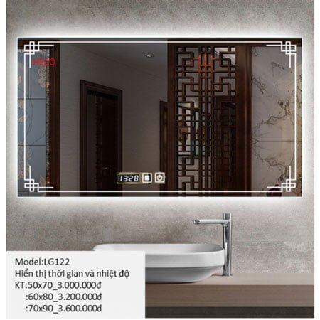 Gương sấy cảm ứng đèn Led Heco LG-122