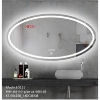 Gương sấy cảm ứng đèn Led Heco LG125