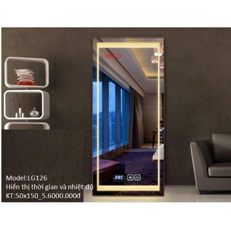 Gương sấy cảm ứng đèn Led Heco LG 126