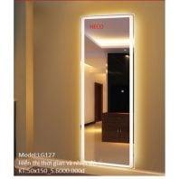 Gương sấy cảm ứng đèn Led Heco LG 127