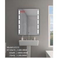 Gương sấy cảm ứng đèn Led Heco LG-131