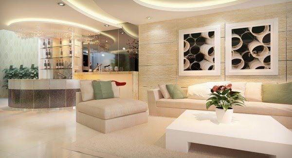 Kích thước gạch phù hợp cho phòng khách