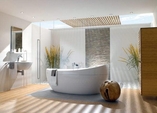Bồn tắm cao cấp giúp tăng vẻ đẹp cho phòng tắm
