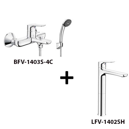 Sen tắm Inax BFV-1403S-4C kèm vòi rửa LFV-1402SH