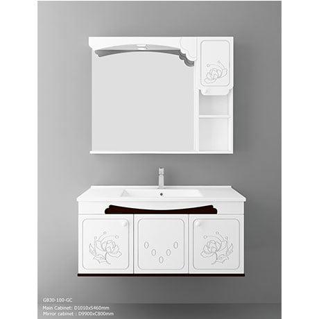 Bộ tủ chậu PVC cao cấp BROSS PT1021