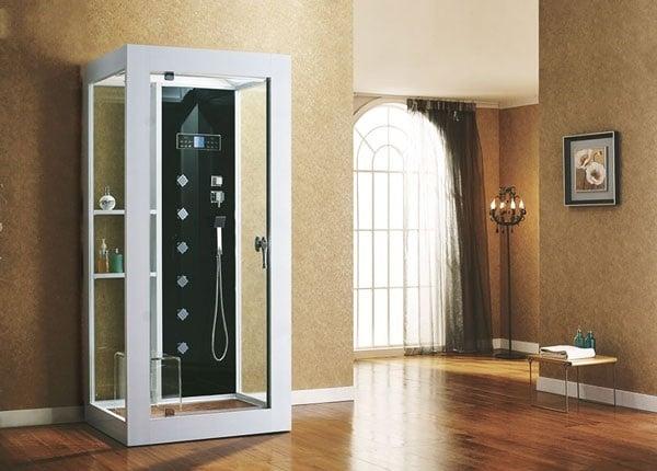 Phòng xông hơi có kích thước được thiết kế theo mục đích sử dụng