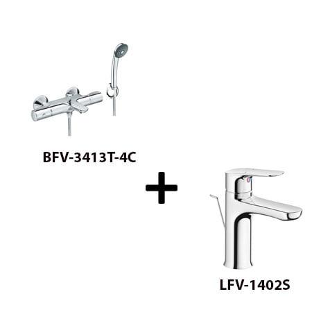 Sen tắm Inax BFV-3413T-4C kèm vòi rửa LFV-1402S