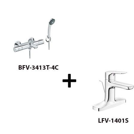 Sen tắm Inax BFV-3413T-4C kèm vòi rửa LFV-1401S