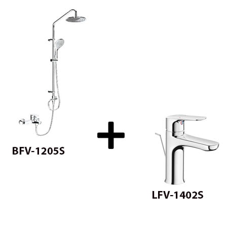 Sen cây Inax BFV-1205S kèm vòi rửa LFV-1402S