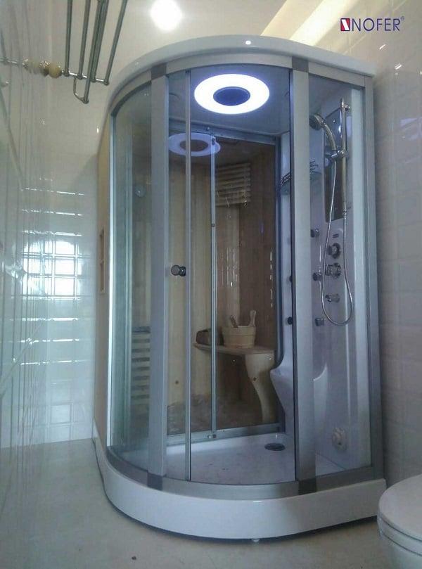 Phòng tắm xông hơi ướt Nofer có rất nhiều ưu điểm nổi bật về kiểu dáng và tính năng hiện đại