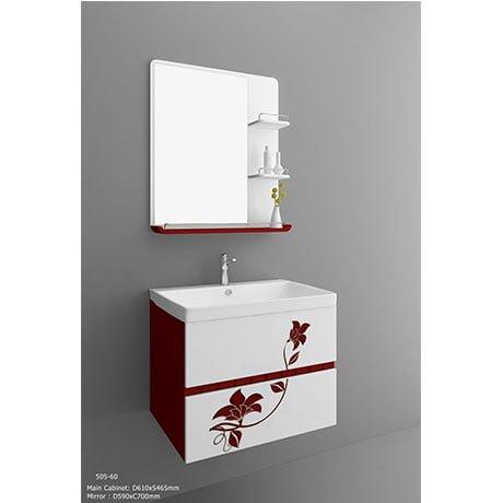 Bộ tủ chậu PVC cao cấp BROSS PT6022