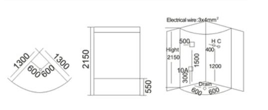 Phòng xông hơi ướt TDO 7013