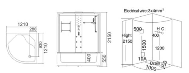 Phòng xông hơi ướt TDO 7021