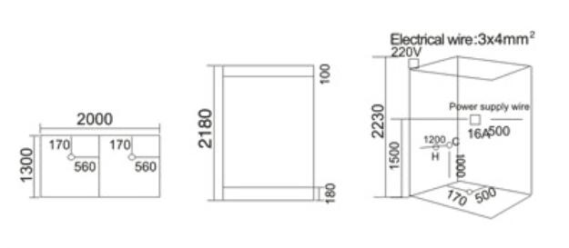 Phòng xông hơi khô và ướt TDO T-9009