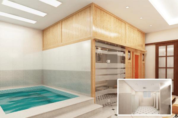 Phòng tắm xông hơi massage có nhiều công dụng đối với sức khỏe và làm đẹp