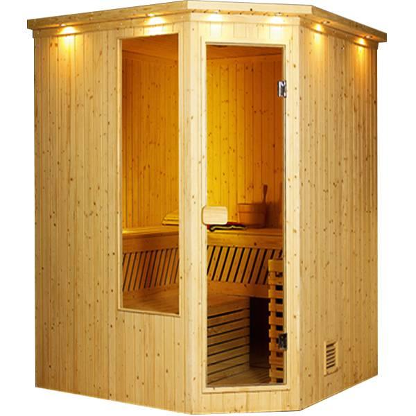 Phòng xông hơi khô mang đến cảm giác thoải mái cho người sử dụng