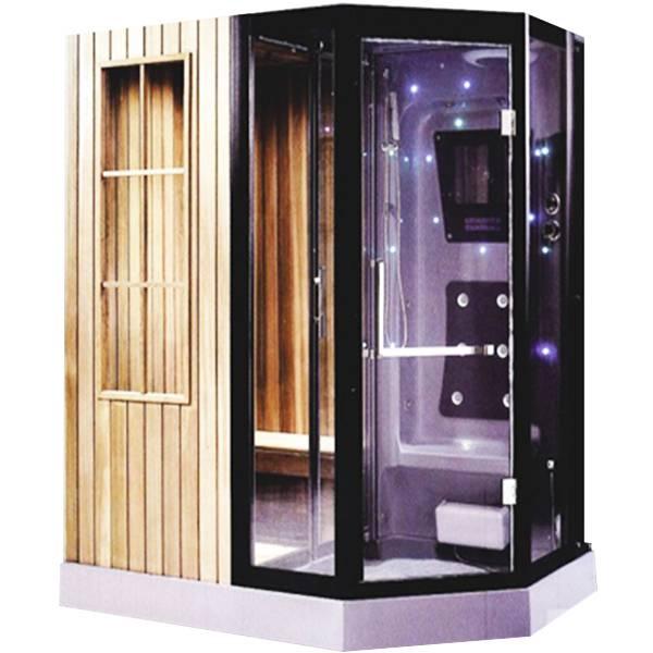 Phòng xông hơi khô bằng tia hồng ngoại mang lại sự sang trọng cho không gian nhà tắm của gia đình bạn