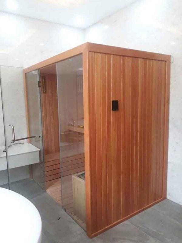 Phòng xông hơi khô được hoạt động dựa trên nguyên tắc sử dụng nhiệt khô