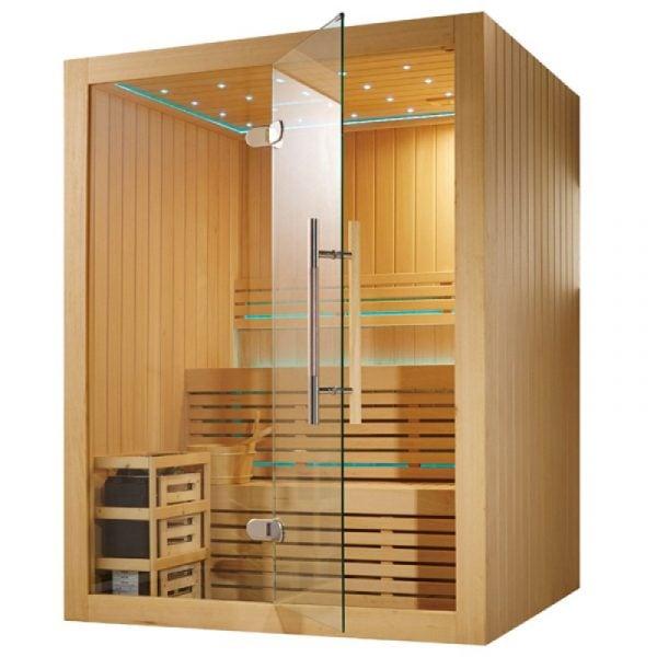 Phòng xông hơi khô hoạt động trên nguyên lý bức xạ nhiệt