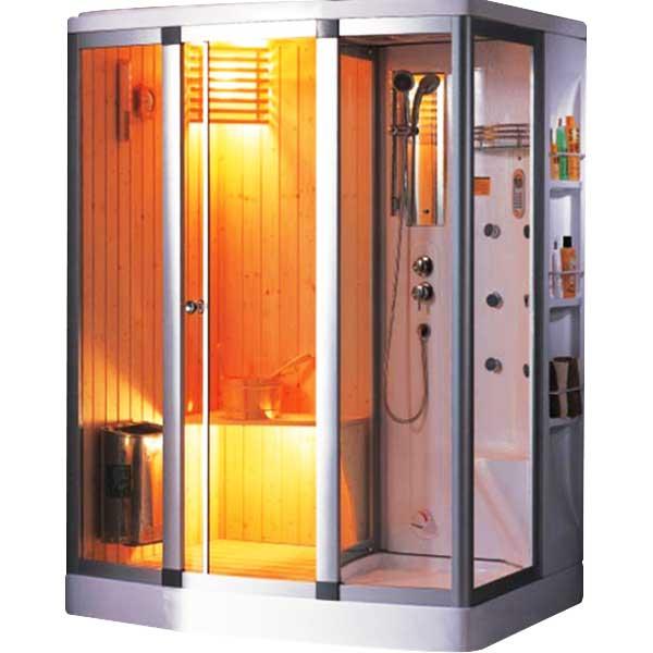 Phòng xông hơi ướt Nofer có nhiệt độ là 45 độ C