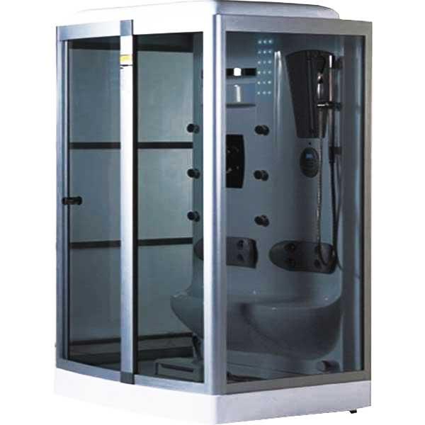 Phòng xông hơi massage kiểu đế cao kết hợp bồn tắm hiện đại