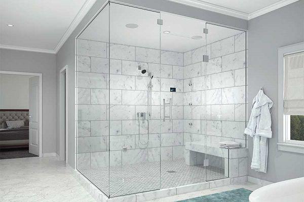 Phòng xông ướt được nhiều gia đình sử dụng
