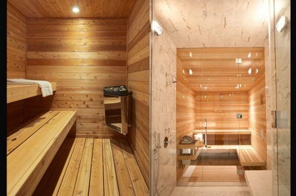 Phòng xông hơi theo yêu cầu được thiết kế theo mô hình phòng xông hơi ướt