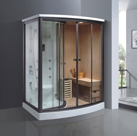 Phòng xông hơi khô và ướt TDO T-9008