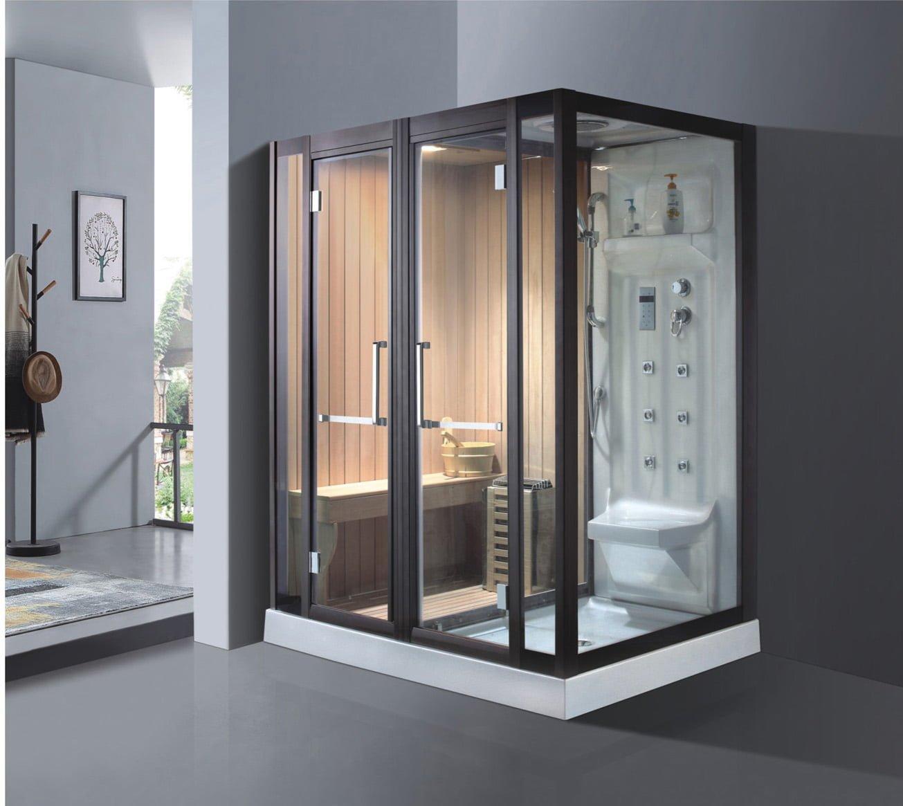 Phòng xông hơi khô và ướt TDO 9009