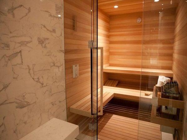 Phòng xông hơi theo yêu cầu được thiết kế hoàn toàn bằng gỗ