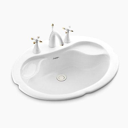 Chậu rửa lavabo Kohler K-2186T-1-0 dương vành
