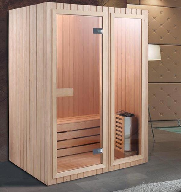 Phòng xông hơi khô được chế tạo từ gỗ