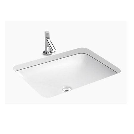Chậu rửa lavabo Kohler K-2949T-0 âm bàn