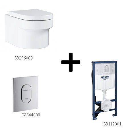 Bồn cầu Grohe 39296000 kèm sản phẩm đồng bộ